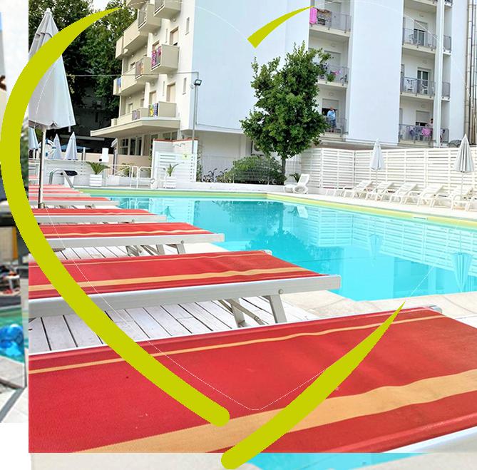 Hotel rimini 3 stelle all inclusive sul mare - Hotel rivazzurra con piscina ...
